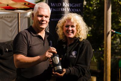 2016 Aldeburgh Food & Drink Festival: Wild Knight English Vodka. © bokeh photographic (Alistair Grant): Freelance Photographer Cambridge.