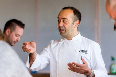 Chef José Pizarro by bokeh photographic (Alistair Grant) Food & Drink Photography.