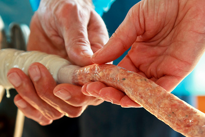 Sausage Making by bokeh photographic (Alistair Grant) Food & Drink Photographer and Food & Drink Photography.