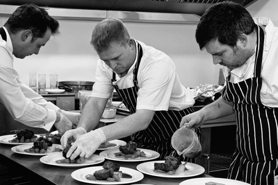 Restaurant Service by bokeh photographic (Alistair Grant) Food & Drink Photographer and Food & Drink Photography.