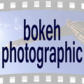 bokeh photographic (Photographer St Ives Cambridge) 35mm Film Logo.