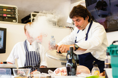 Jean-Christophe Novelli by bokeh photographic (Alistair Grant) Food & Drink Photography.