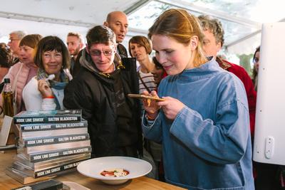2017 Aldeburgh Food & Drink Festival: Galton Blackiston Tasting. © bokeh photographic (Alistair Grant): Freelance Photographer Cambridge.
