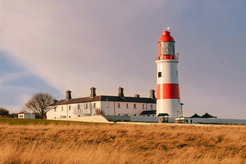 Freelance Photographer Cambridge Blog Image   Blog 33   Total Recall (The National Trust's Souter Lighthouse on the North East coast in mid winter sunshine). © bokeh photographic (Alistair Grant): Freelance Photographer; Food & Drink Photographer; Commercial Photographer, Product Photographer & Packshot Photographer; Event Photographer; Portrait Photographer; Corporate Photographer & PR Photographer; Engagement Photographer & Wedding Photographer and Photography Training Courses, St Ives, Cambridge.