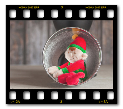 Not #ElfOnTheShelf but #sELFie in the #Photography #Studio. DAY 2: Flash Reflector.  A bit of festive fun illustrating some of the photographic equipment I use to shoot Food Photography, Portrait Photography, Event Photography, Corporate Photography & Product Photography. © bokeh photographic (Alistair Grant): Freelance Photographer, St Ives, Cambridge and across the UK.
