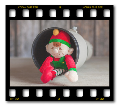Not #ElfOnTheShelf but #sELFie in the #Photography #Studio. DAY 3: Canon 300mm Telephoto.  A bit of festive fun illustrating some of the photographic equipment I use to shoot Food Photography, Portrait Photography, Event Photography, Corporate Photography & Product Photography. © bokeh photographic (Alistair Grant): Freelance Photographer, St Ives, Cambridge and across the UK.
