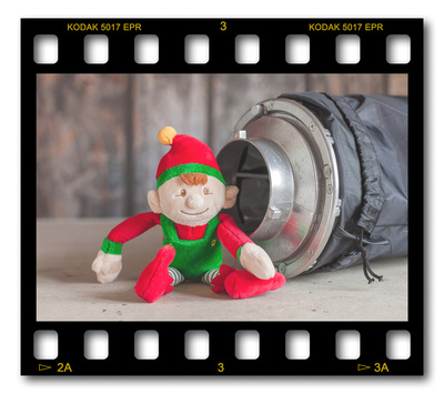 Not #ElfOnTheShelf but #sELFie in the #Photography #Studio. DAY 11: Octo Softbox.  A bit of festive fun illustrating some of the photographic equipment I use to shoot Food Photography, Portrait Photography, Event Photography, Corporate Photography & Product Photography. © bokeh photographic (Alistair Grant): Freelance Photographer, St Ives, Cambridge and across the UK.