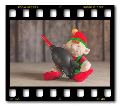 Not #ElfOnTheShelf but #sELFie in the #Photography #Studio. DAY 20: Rocket Blower.  A bit of festive fun illustrating some of the photographic equipment I use to shoot Food Photography, Portrait Photography, Event Photography, Corporate Photography & Product Photography. © bokeh photographic (Alistair Grant): Freelance Photographer, St Ives, Cambridge and across the UK.