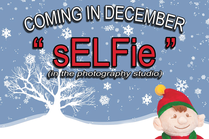 Not #ElfOnTheShelf but #sELFie in the #Photography #Studio. A bit of festive fun illustrating some of the photographic equipment I use to shoot Food Photography, Portrait Photography, Event Photography, Corporate Photography & Product Photography. © bokeh photographic (Alistair Grant): Freelance Photographer, St Ives, Cambridge and across the UK.