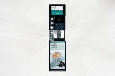 M&S Vending Machine by bokeh photographic (Alistair Grant) Commercial Photographer St Ives Cambridgeshire & Product Photographer St Ives Cambridgeshire.
