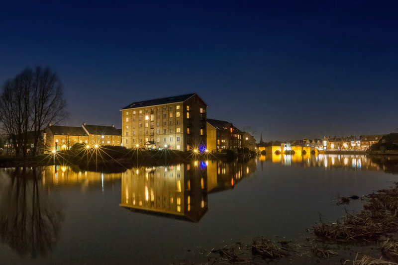 Enderbys Printing Mill The Old Riverport St Ives by bokeh photographic (Alistair Grant) Freelance Photography Cambridge.