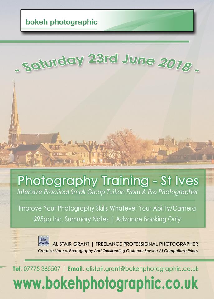 bokeh photographic (Alistair Grant) - Freelance Photographer Cambridge -St Ives Photography Training