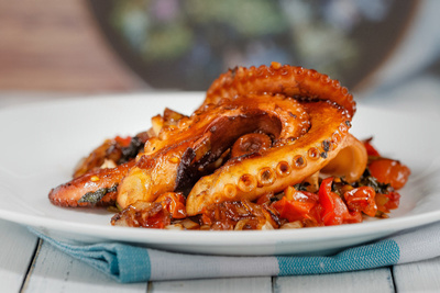 Pulpo a la Gallega (Galician Octopus) by bokeh photographic (Alistair Grant) Food & Drink Photography.
