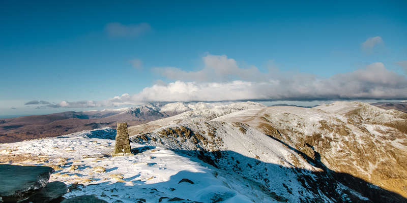 Blog 78: A Higher Exposure – #1 Wintry Conditions at Old Man of Coniston, Brim Fell, Swirl How & Wetherlam, Lake District by bokeh photographic (Alistair Grant) Freelance Photography Cambridge.