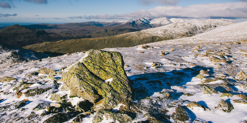 Blog 78: A Higher Exposure – #5 Wintry Conditions at Old Man of Coniston, Brim Fell, Swirl How & Wetherlam, Lake District by bokeh photographic (Alistair Grant) Freelance Photography Cambridge.