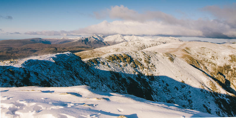 Blog 78: A Higher Exposure – #4 Wintry Conditions at Old Man of Coniston, Brim Fell, Swirl How & Wetherlam, Lake District by bokeh photographic (Alistair Grant) Freelance Photography Cambridge.