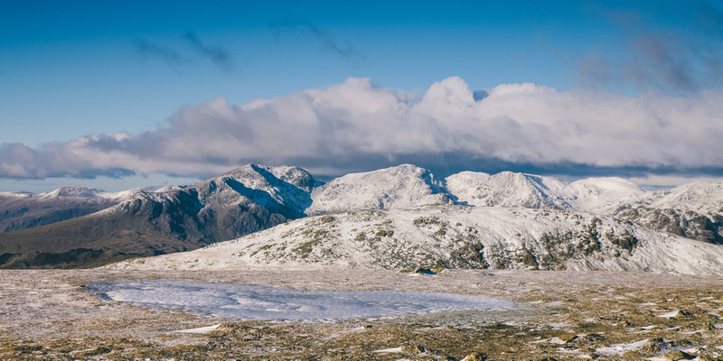 Blog 78: A Higher Exposure – #8 Wintry Conditions at Old Man of Coniston, Brim Fell, Swirl How & Wetherlam, Lake District by bokeh photographic (Alistair Grant) Freelance Photography Cambridge.