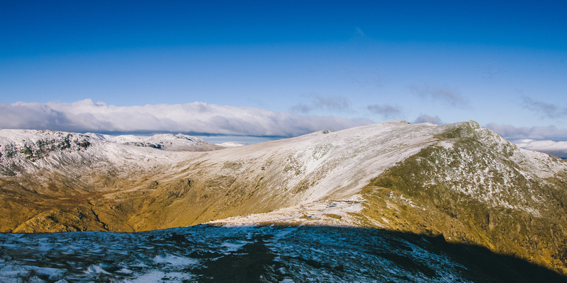 Blog 78: A Higher Exposure – #9 Wintry Conditions at Old Man of Coniston, Brim Fell, Swirl How & Wetherlam, Lake District by bokeh photographic (Alistair Grant) Freelance Photography Cambridge.