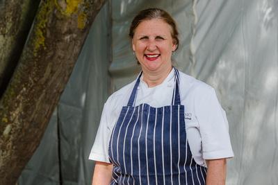 2016 Aldeburgh Food & Drink Festival: Chef Angela Hartnett. | bokeh photographic - Alistair Grant.
