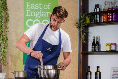 2016 Aldeburgh Food & Drink Festival: The Chestnut Group Commis Chef. © bokeh photographic (Alistair Grant): Freelance Photographer Cambridge.