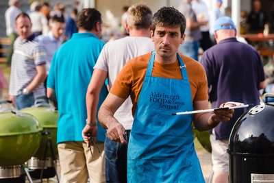 2016 Aldeburgh Food & Drink Festival: Chef Ben Tish. © bokeh photographic (Alistair Grant): Freelance Photographer Cambridge.