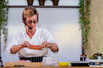 2016 Aldeburgh Food & Drink Festival: Chef Emma Crowhurst. © bokeh photographic (Alistair Grant): Freelance Photographer Cambridge.