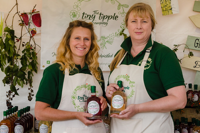 2016 Aldeburgh Food & Drink Festival: The Tiny Tipple Company Infused Spirits. © bokeh photographic (Alistair Grant): Freelance Photographer Cambridge.