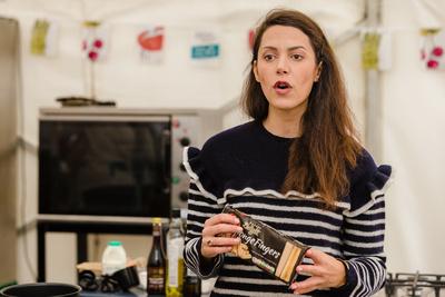 2016 Aldeburgh Food & Drink Festival: Chef Eleonora Galasso. | bokeh photographic - Alistair Grant.