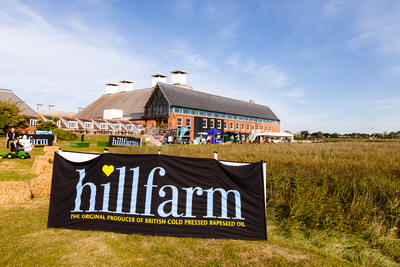 2016 Aldeburgh Food & Drink Festival: Snape Maltings from Hillfarm Oils Meadow. © bokeh photographic (Alistair Grant): Freelance Photographer Cambridge.