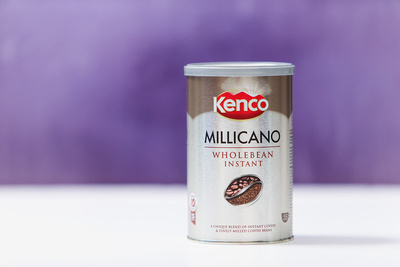 Food Photography Image of Kenco Millicano Coffee. © bokeh photographic (Alistair Grant): Food Photographer in Cambridgeshire, Bedfordshire, Northamptonshire, Norfolk, Suffolk, Essex, Hertfordshire and across the UK.