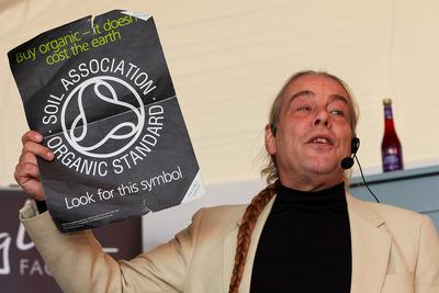 Food & Drink Photography Image: Bob Flowerdew. © bokeh photographic (Alistair Grant): Food & Drink Photographer in Cambridgeshire, Bedfordshire, Northamptonshire, Norfolk, Suffolk, Essex & Hertfordshire.