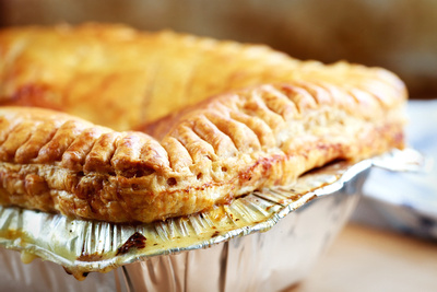 Food Photography Portfolio – Chicken Pie. © bokeh photographic (Alistair Grant): Food Photographer, St Ives, Cambridge.