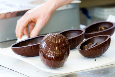 Food Photography Image of Hand-Crafted Easter Eggs. © bokeh photographic (Alistair Grant): Food Photographer in Cambridgeshire, Bedfordshire, Northamptonshire, Norfolk, Suffolk, Essex, Hertfordshire and across the UK.