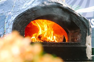 2017 Aldeburgh Food & Drink Festival: Street Food Fire Oven. © bokeh photographic (Alistair Grant): Freelance Photographer Cambridge.