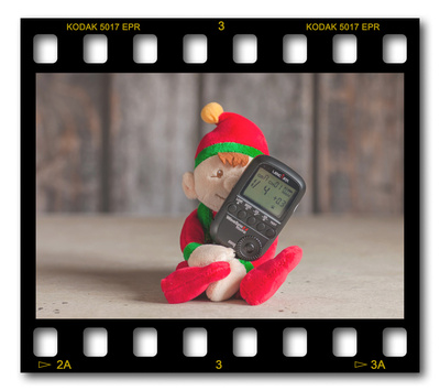 Not #ElfOnTheShelf but #sELFie in the #Photography #Studio. DAY 8: Wireless Trigger.  A bit of festive fun illustrating some of the photographic equipment I use to shoot Food Photography, Portrait Photography, Event Photography, Corporate Photography & Product Photography. © bokeh photographic (Alistair Grant): Freelance Photographer, St Ives, Cambridge and across the UK.