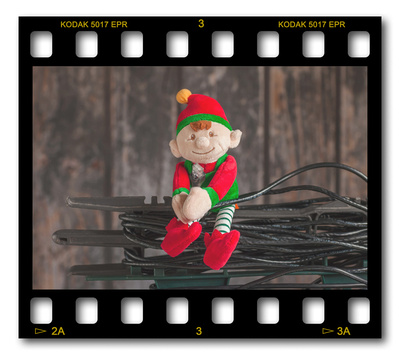 Not #ElfOnTheShelf but #sELFie in the #Photography #Studio. DAY 21: LAN Tether Cable.  A bit of festive fun illustrating some of the photographic equipment I use to shoot Food Photography, Portrait Photography, Event Photography, Corporate Photography & Product Photography. © bokeh photographic (Alistair Grant): Freelance Photographer, St Ives, Cambridge and across the UK.