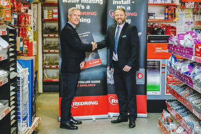 Corporate Photography and PR Photography Image of Redring - Plumbase PR Shot. © bokeh photographic (Alistair Grant): Corporate Photographer and PR Photographer in Cambridgeshire, Bedfordshire, Northamptonshire, Norfolk, Suffolk, Essex & Hertfordshire.