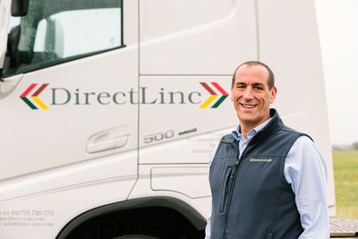 Corporate Photography and PR Photography Image of Truckcom – DirectLinc Promo Shot. © bokeh photographic (Alistair Grant): Corporate Photographer and PR Photographer in Cambridgeshire, Bedfordshire, Northamptonshire, Norfolk, Suffolk, Essex, Hertfordshire and across the UK.