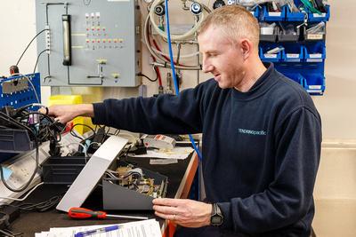 Electronics Technician. © bokeh photographic (Alistair Grant): Professional Photographer: Cambridgeshire, Bedfordshire, Northamptonshire, Norfolk, Suffolk, Essex & Hertfordshire.