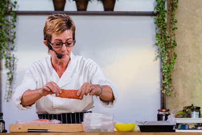 2016 Aldeburgh Food & Drink Festival: Chef Emma Crowhurst. © bokeh photographic (Alistair Grant): Freelance Photographer Cambridge.