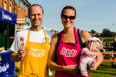 2016 Aldeburgh Food & Drink Festival: Lickety Ice Lollies. © bokeh photographic (Alistair Grant): Freelance Photographer Cambridge.
