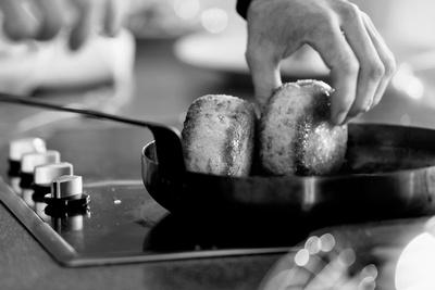 Food & Drink Photography Image: Fishcakes. © bokeh photographic (Alistair Grant): Food & Drink Photographer in Cambridgeshire, Bedfordshire, Northamptonshire, Norfolk, Suffolk, Essex & Hertfordshire.