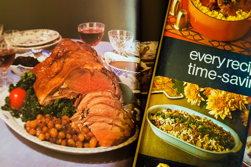 Freelance Photographer Cambridge Blog Image | Picture of Images from a 1970s Cookbook. © bokeh photographic (Alistair Grant): Freelance Photographer, St Ives, Cambridge, London and across the UK.