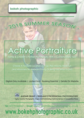 Latest News Image of Active Portraiture Family & Children's Portrait Photography. © bokeh photographic (Alistair Grant): Freelance Photographer in Cambridgeshire, Bedfordshire, Northamptonshire, Norfolk, Suffolk, Essex, Hertfordshire and across the UK.