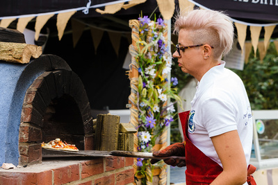 2016 Aldeburgh Food & Drink Festival: Pizza Making | bokeh photographic - Alistair Grant.