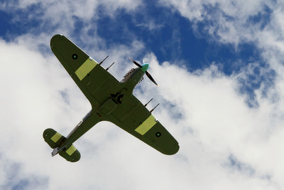 Spitfire Flypast. © bokeh photographic (Alistair Grant): Professional Photographer: Cambridgeshire, Bedfordshire, Northamptonshire, Norfolk, Suffolk, Essex & Hertfordshire.