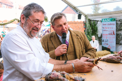 2017 Aldeburgh Food & Drink Festival: David Grimwood's Wild Suffolk World Partridge Plucking Championships. © bokeh photographic (Alistair Grant): Freelance Photographer Cambridge.