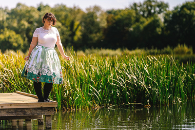 Event Photography Image: Cambs Photography Event Promo Shoot Images for the inaugural Cambs Photography Event on Friday 29th September 2017 at Hinchingbrooke Country Park, Huntingdon (#7: Model Lizzie Bailey). © bokeh photographic (Alistair Grant): Freelance Photographer, St Ives, Cambridge.