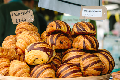 2017 Aldeburgh Food & Drink Festival: Pain Au Chocolat. © bokeh photographic (Alistair Grant): Freelance Photographer Cambridge.