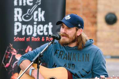 2017 Aldeburgh Food & Drink Festival: Rock Project Performer. © bokeh photographic (Alistair Grant): Freelance Photographer Cambridge.